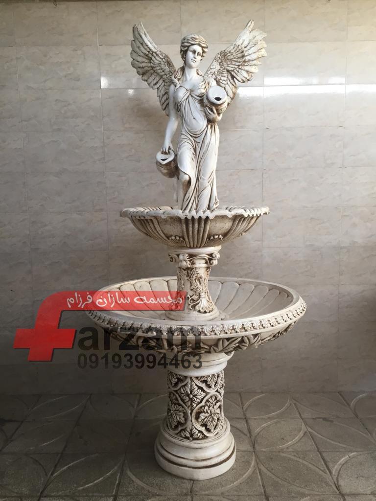 آبنما فایبرگلاس | آبنما مجسمه فایبرگلاس