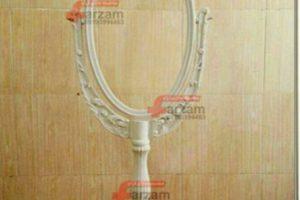دکور آرایشگاه | آینه آرایشگاهی