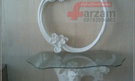 آینه کنسول زنبق فایبرگلاس