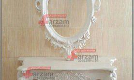 آینه کنسول الماس فایبرگلاس