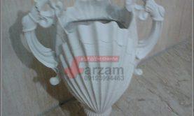 گلدان صدف فایبرگلاس