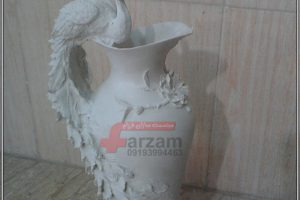 گلدان طاووس فایبرگلاس k456