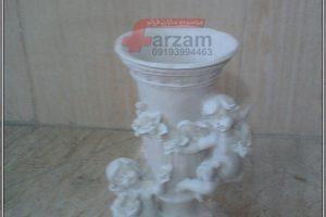 گلدان دو فرشته فایبرگلاس جدید
