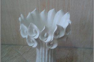 گلدان فایبرگلاس بوته