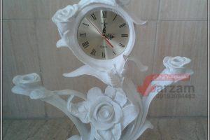 ساعت و شمعدان رز فایبرگلاس
