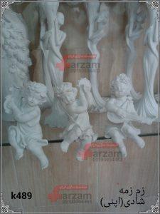 مجسمه پلی استر فرشته زمزمه شادی